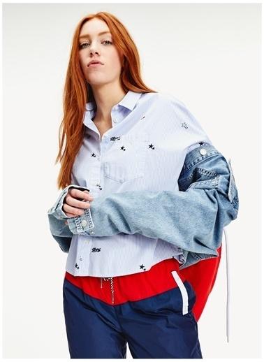 Tommy Jeans Gömlek Mavi